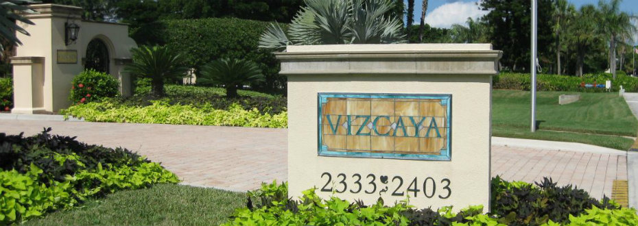 Vizcaya Sign